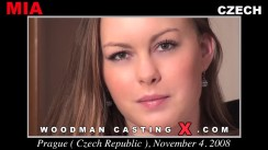 Check out this video of Mia Me having an audition. Erotic meeting between Pierre Woodman and Mia Me, a Czech girl.
