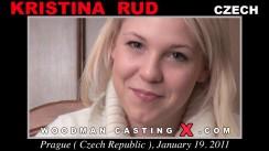Download Kristina Rud casting video files. Pierre Woodman undress Kristina Rud, a Czech girl.
