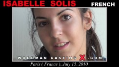 Check out this video of Isabelle Solis having an audition. Pierre Woodman fuck Isabelle Solis, French girl, in this video.
