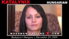 Download Katalynix casting video files. Pierre Woodman undress Katalynix, a Hungarian girl.