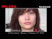 See the audition of Milena