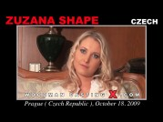 See the audition of Zuzana Shape