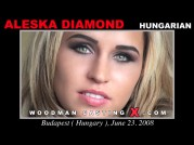 Casting of ALESKA DIAMOND video