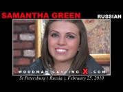 See the audition of Samantha Green