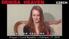 Access Denisa Heaven casting in streaming. A Czech girl, Denisa Heaven will have sex with Pierre Woodman.