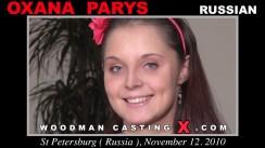 Access Oxana Parys casting in streaming. Pierre Woodman undress Oxana Parys, a Russian girl.