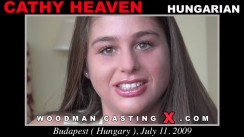 Download Cathy Heaven casting video files. Pierre Woodman undress Cathy Heaven, a Hungarian girl.