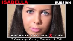 Watch our casting video of Isabella. Erotic meeting between Pierre Woodman and Isabella, a Russian girl.