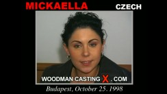 Access Mickaella casting in streaming. Pierre Woodman undress Mickaella, a Czech girl.