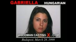 Watch Gabriella first XXX video. Pierre Woodman undress Gabriella, a Hungarian girl.