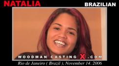 Download Natalia casting video files. Pierre Woodman undress Natalia, a Brazilian girl.