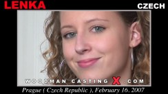Watch our casting video of Lenka. Erotic meeting between Pierre Woodman and Lenka, a Czech girl.