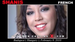 Watch our casting video of Shanis. Pierre Woodman fuck Shanis, French girl, in this video.
