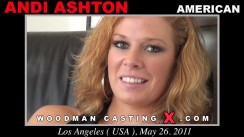 Check out this video of Andi Ashton having an audition. Erotic meeting between Pierre Woodman and Andi Ashton, a American girl.