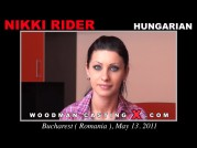 Casting of NIKKI RIDER video