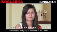 Check out this video of Boglarka having an audition. Erotic meeting between Pierre Woodman and Boglarka, a Hungarian girl.