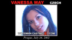 Access Vanessa May casting in streaming. Pierre Woodman undress Vanessa May, a Czech girl.