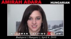 Download Amirah Adara casting video files. A Hungarian girl, Amirah Adara will have sex with Pierre Woodman.