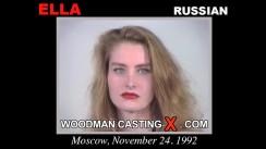 Access Ella casting in streaming. Pierre Woodman undress Ella, a Russian girl.