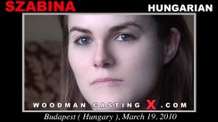 Watch our casting video of Szabina. Erotic meeting between Pierre Woodman and Szabina, a Hungarian girl.