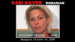 Check out this video of Gabi Silver having an audition. Erotic meeting between Pierre Woodman and Gabi Silver, a Romanian girl.