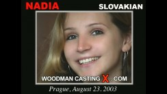 Watch Nadia first XXX video. Pierre Woodman undress Nadia, a Slovak girl.