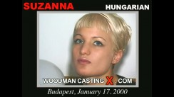 Look at Suzanna getting her porn audition. Erotic meeting between Pierre Woodman and Suzanna, a Hungarian girl.
