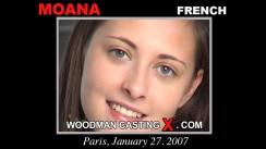 Check out this video of Moana having an audition. Erotic meeting between Pierre Woodman and Moana, a French girl.