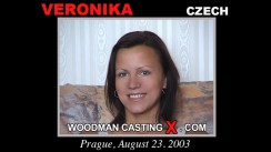 Download Veronika casting video files. Pierre Woodman undress Veronika, a Czech girl.