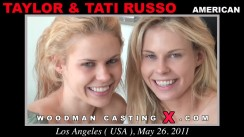 Check out this video of Taylor And Tati Russo having an audition. Erotic meeting between Pierre Woodman and Taylor And Tati Russo, a American girl.
