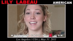 Look at Lily Labeau getting her porn audition. Erotic meeting between Pierre Woodman and Lily Labeau, a American girl.