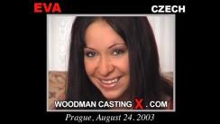 Watch Eva first XXX video. Pierre Woodman undress Eva, a Czech girl.