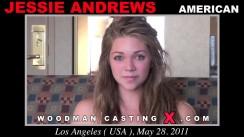 Watch Jessie Andrews first XXX video. Pierre Woodman undress Jessie Andrews, a American girl.