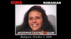 Download Gina casting video files. Pierre Woodman undress Gina, a Romanian girl.