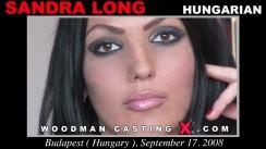 Casting of SANDRA LONG video
