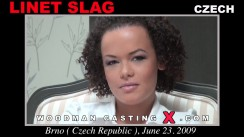 Look at Linet Slag getting her porn audition. Pierre Woodman fuck Linet Slag, Czech girl, in this video.