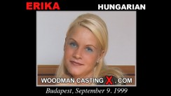 Download Erika casting video files. Pierre Woodman undress Erika, a Hungarian girl.