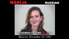 Download Marija casting video files. Pierre Woodman undress Marija, a Russian girl.