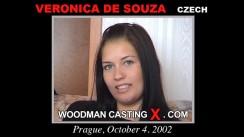 Download Veronica De Souza casting video files. Pierre Woodman undress Veronica De Souza, a Czech girl.