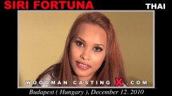 Check out this video of Siri Fortuna having an audition. Erotic meeting between Pierre Woodman and Siri Fortuna, a Thai girl.