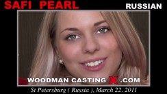 Download Safi Pearl casting video files. Pierre Woodman undress Safi Pearl, a Russian girl.