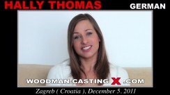 Download Hally Thomas casting video files. Pierre Woodman undress Hally Thomas, a German girl.