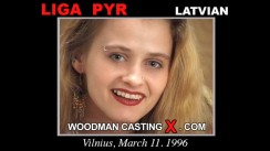Watch our casting video of Liga Pyr. Erotic meeting between Pierre Woodman and Liga Pyr, a Latvian girl.