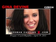 See the audition of Gina Devine