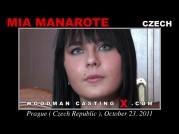 Casting of MIA MANAROTE video