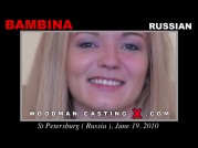 See the audition of Bambina