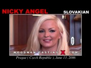 Casting of NICKY ANGEL video