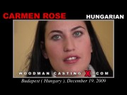 See the audition of Carmen Rose