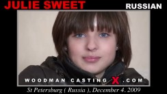 Casting of JULIE SWEET video