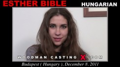 Look at Esther Bible getting her porn audition. Pierre Woodman fuck Esther Bible, Hungarian girl, in this video.